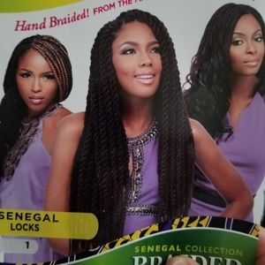 Empress lace wig senegal locks